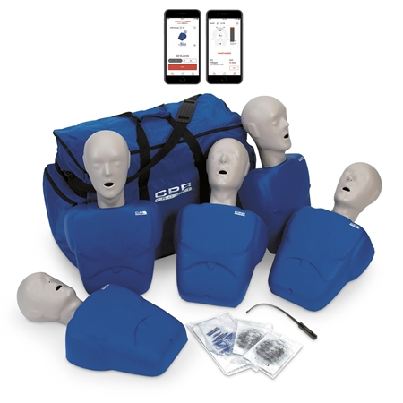 CPR Prompt® Plus 5-Pack with Heartisense® - Blue