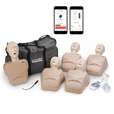 CPR Prompt® Plus 5-Pack with Heartisense® - Tan