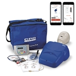 CPR Prompt® Plus Complete AED Training System with Heartisense® - Blue