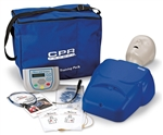 CPR Prompt® Complete AED Training System, Blue - LF06317U