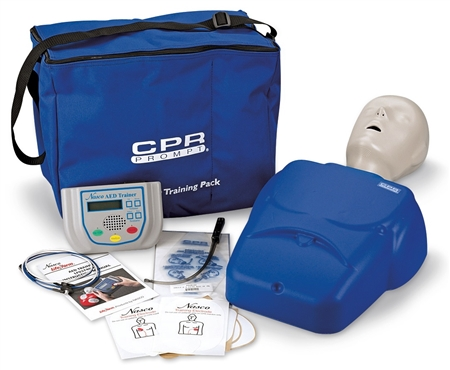CPR Prompt Complete AED Training System - Blue