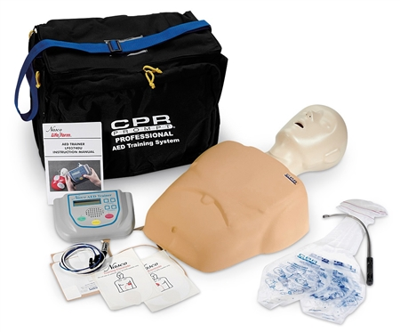 CPR Prompt® Complete AED Training System, Tan - LF06318U
