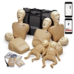 CPR Prompt® Plus Complete TPAK700 with Heartisense® 7-Pack Tan