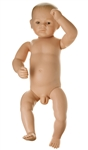 SOMSO Doll for Baby Care - 6 week old male infant - MS43-3