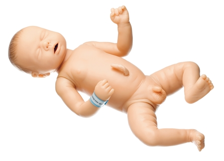 SOMSO Newborn Baby Male - White - MS58