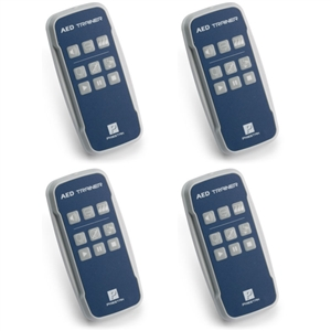 4 Remotes for Prestan Professional AED - PP-AEDT-400-R