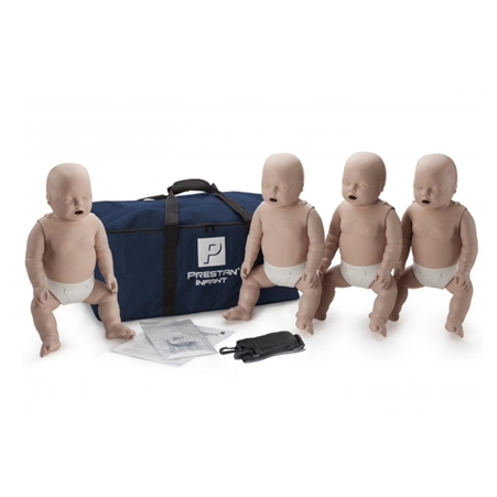 prestan infant cpr training manikins 4 pack