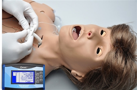 Code Blue Multipurpose Simulator with Intubatable Airway