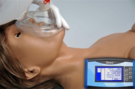 Code Blue Multipurpose Simulator with Non-intubatable Disposable Airway