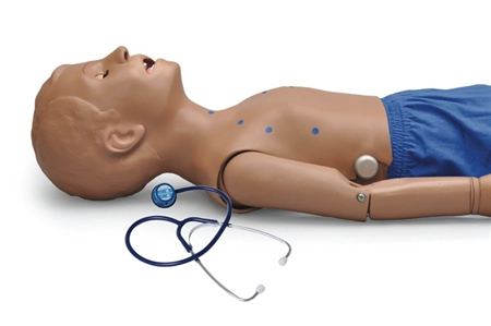 5-Year-Old Patient with Heart and Lung Sounds Skills Trainer - S314.200