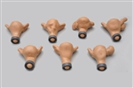 Set of seven normal and abnormal uteri for ZOE S504.100