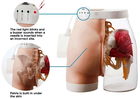 Intramuscular Buttock Injection, Type 2