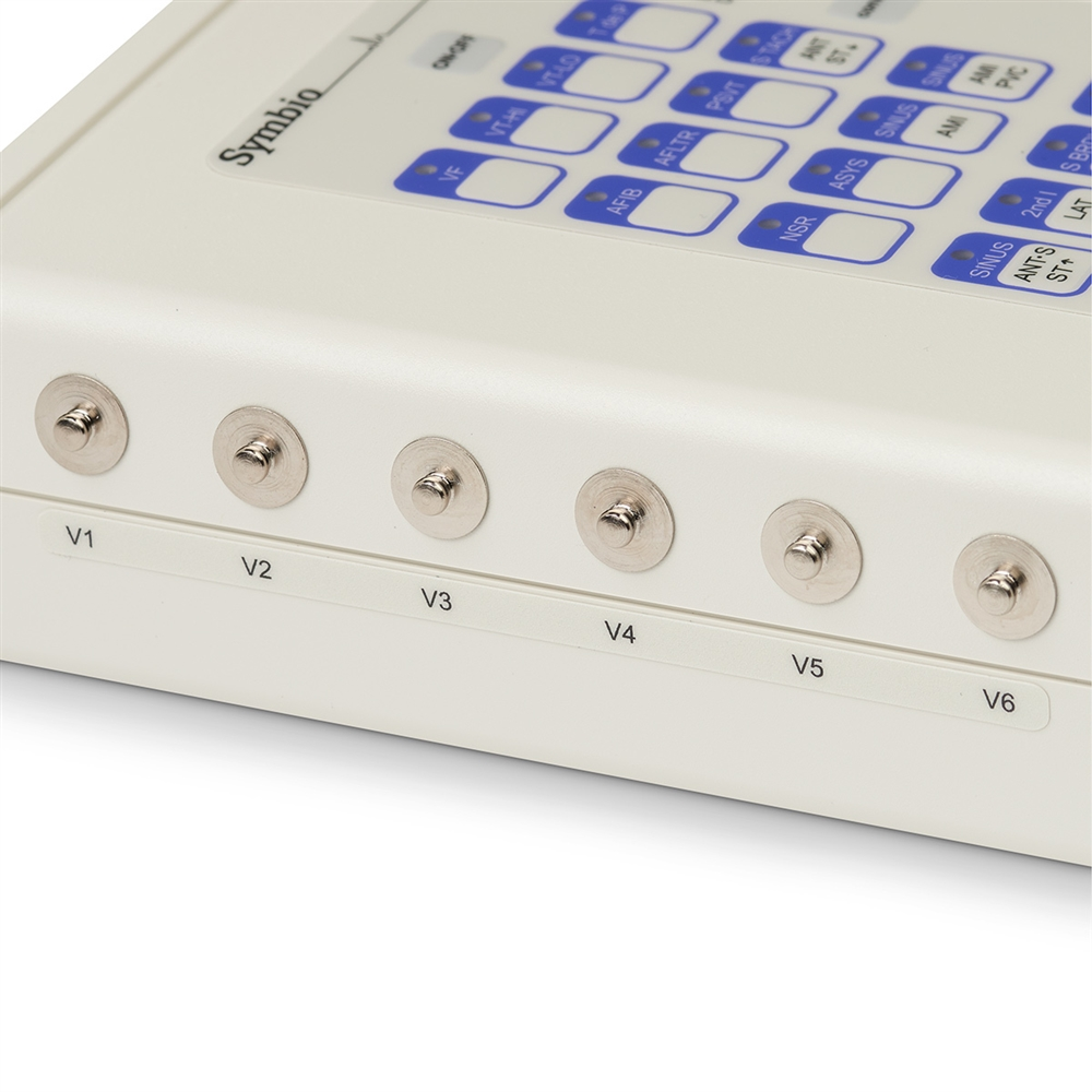 12-Lead ECG Simulator - Physio Medtronic and Marquette Quick Combo