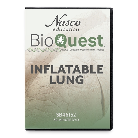 BioQuest® Inflatable Lungs Teacher Instructional DVD