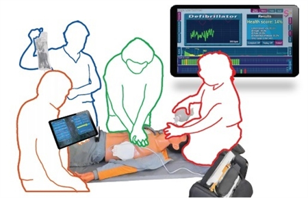SmartMan Simulation for Sudden Cardiac Arrest with Tablet - SMGLV-SIM1
