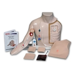 Chester Chest™ Vascular Access Simulator With Advanced Arm, Light - VT2410