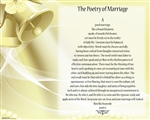 Poetry of Marriage - (Yellow Bells) Canvas