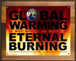 Global Warming Plaque