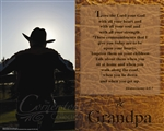 Cowboy GPa Canvas
