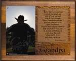 Cowboy GPa Plaque