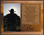 Cowboy Dad Plaque
