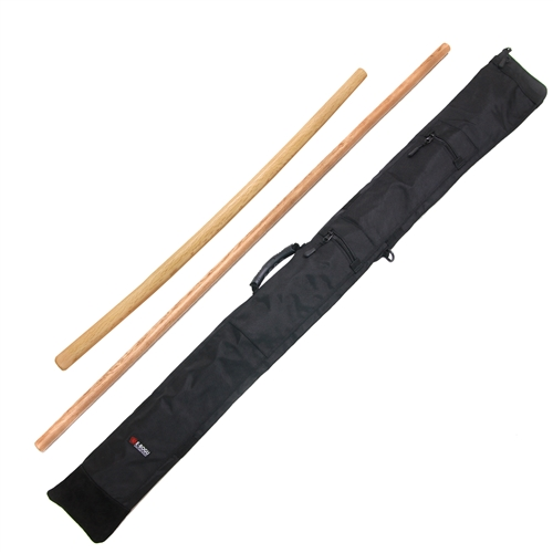 Master Quality Aikido Bokken Jo Set with Bag