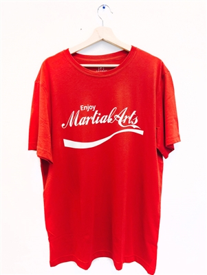 Enjoy Martial Arts T-Shirt (Coca-Cola Style)