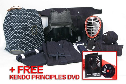 *** Student's Choice *** High Performance 6 mm Machine Stitched Bogu Set Combination + FREE Kendo DVD