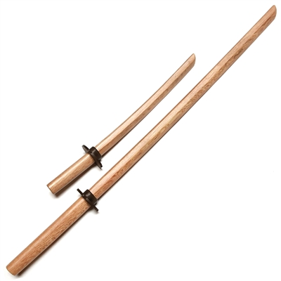 Master Series :: Oak Bokken Set (Long + Short) NATURAL