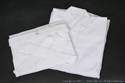 Top Quality IAIDO Gi & Tetron Hakama Set (White)