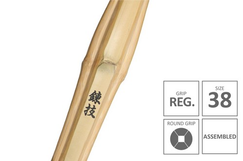 RENGI :: High Performanace Standard Practice Shinai Junior Grip [Assembled - Size 38]