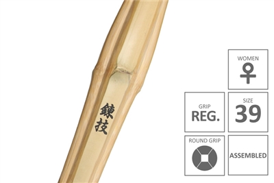 RENGI :: High Performanace Standard Practice Shinai Regular Women Grip [Assembled - Size 39 for Women]