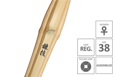 RENGI :: High Performanace Standard Practice Shinai Regular Women Grip [Assembled - Size 38 for Women]