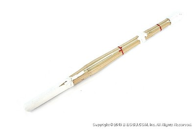 NITORYU :: Top Quality MADAKE Nito-ryu Shinai Short Grip [Assembled - Size Shoto 62cm/24.5in]