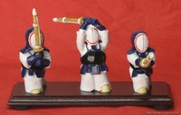 Kendo Figure 3pcs