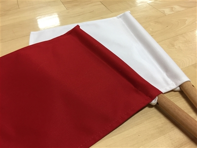 Shinpanki - Official Tournament Flag (Red/White)