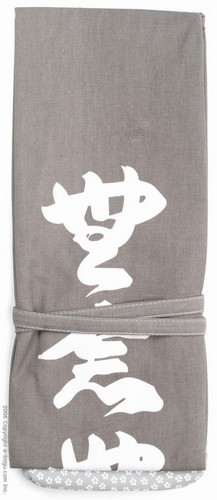 Munen Muso Shinai Bag (3 Shinais) Gray