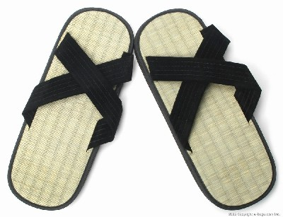 Zori Sandals (X Type) with Rice Straw