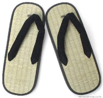 Zori Sandals (Y Type) with Rice Straw