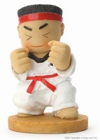 Taekwondo Doll (Straight Position)
