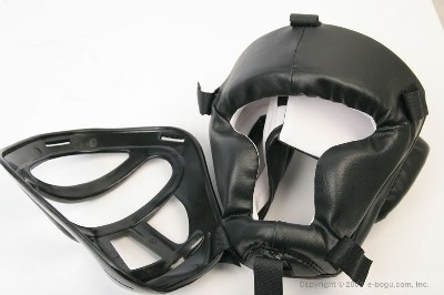 Head Guard in PVC (Removable Mask)