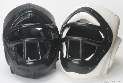 PVC Head Guard with Mask