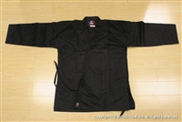** OUTLET ** Medium Black Karate Uniform - Size 7