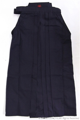 Outlet Navy Blue Tetron Hakama - Size 21
