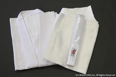 ** OUTLET ** Top Quality BUTOKU Full Contact Karate Uniform Set - Size 3