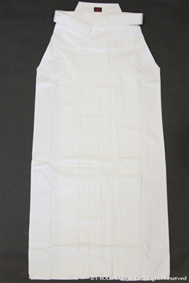 ** OUTLET ** Top Quality 8,000 WHITE Hakama - Size 30