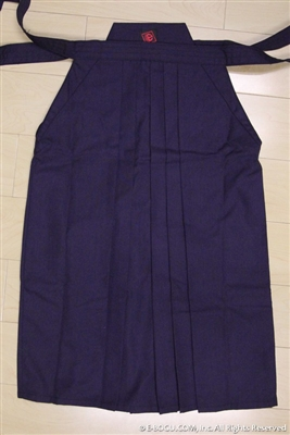 Outlet Navy Blue Tetron Hakama - Size 18
