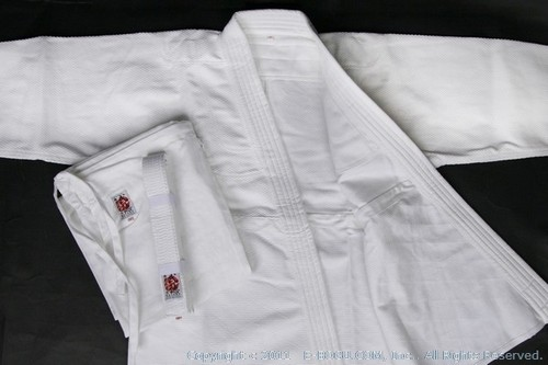[SEIKA] Top Quality BUTOKU Bleached AIKIDO Uniform Set