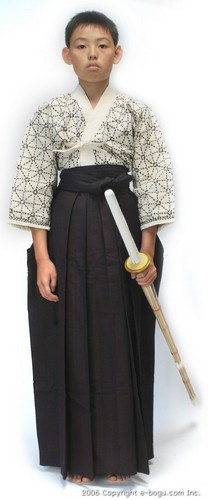 Top Quality Black Tetron Hakama Junior