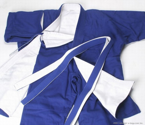 Competition Judo Uniform (Reversible Blue/White)